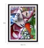 Photographic Paper 18 x 1 x 24 Inch Modern Masters Collection I And The Village by Marc Chagall Framed Digital Art Print by Tallenge