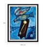 Photographic Paper 18 x 1 x 24 Inch Modern Masters Collection Time Is A River Without Banks by Marc Chagall Framed Digital Art Print by Tallenge