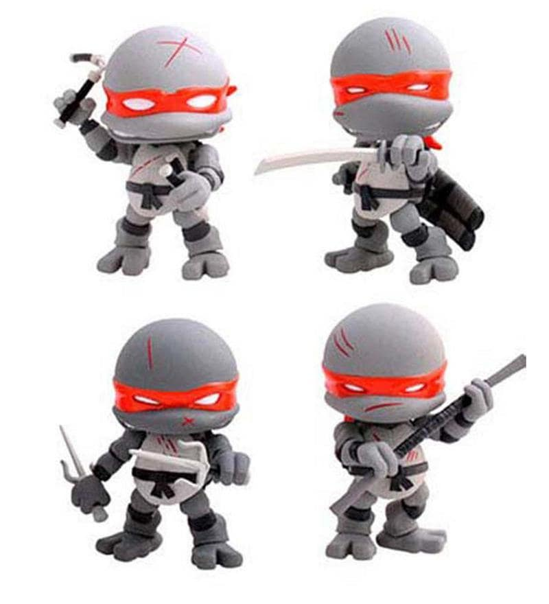 Teenage Mutant Ninja Turtles Action Vinyl Figures 4-Pack Battle Damage 8 cm by Entertainment Store