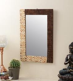 Brown Bone Mirror By The Decor Mart