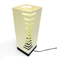The Light Box Off White Paper Eclipse Lamp Shade