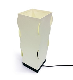 The Light Box Off White Paper Vine Lamp Shade