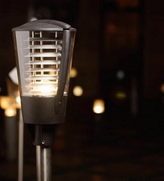 The Light Store Metal Outdoor Gate Light at pepperfry
