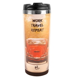 Thinkpot Work Travel Repeat Premium Multicolour Stainless Steel 450 ML Sipper