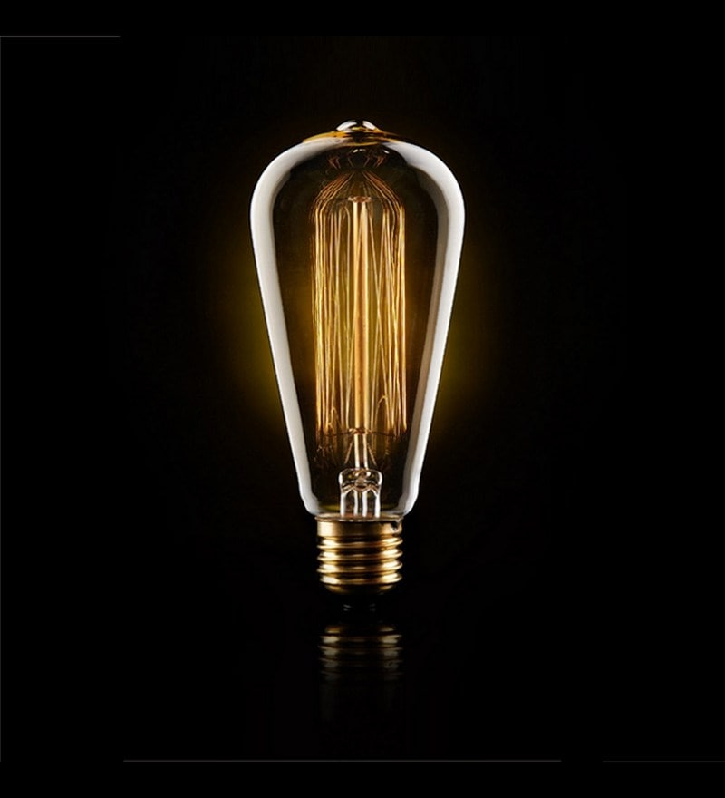 Tear Drop 40W Filament Bulb by The Brighter Side