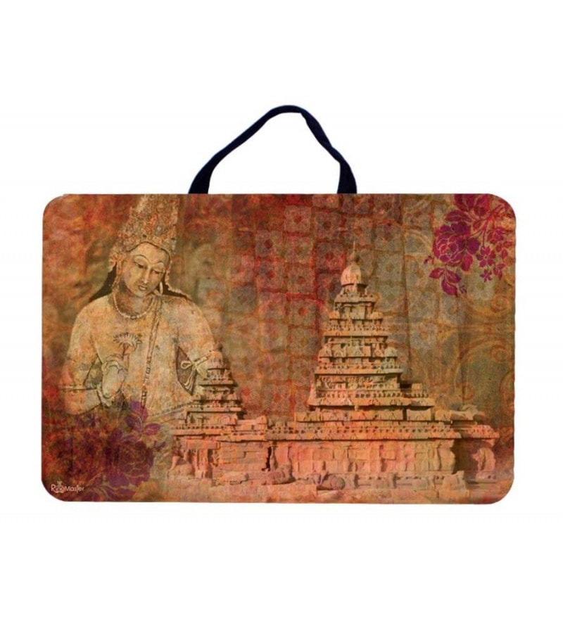 The Ringmaster Bodhisattva MDF Brown Lap Tray with Cushioned Bottom