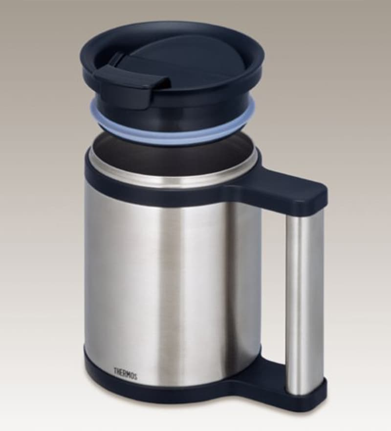 Silver Stainless Steel 280 ML Flask by Thermos