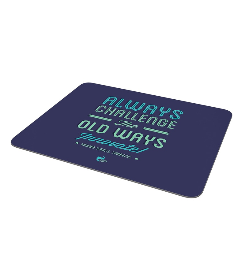 Multicolor Foam Howard Schultz Quote Mousepad by Thinkpot