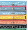 The Mikky Shoppe Station Multicolour Mango Wood & MDF Jodhpuri Collectible with 8 Drawers