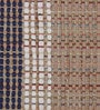 The Rug Republic Multicolour Cotton & Jute Geometric Pattern Carpet