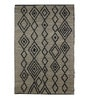 Multicolour Jute Geometric Pattern Carpet by The Rug Republic