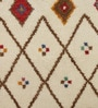 Multicolour Woollen Geometric Hand Knotted Area Rug by The Rug Republic