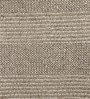 Brown Woollen Solid Hand Woven Area Rug by The Rug Republic