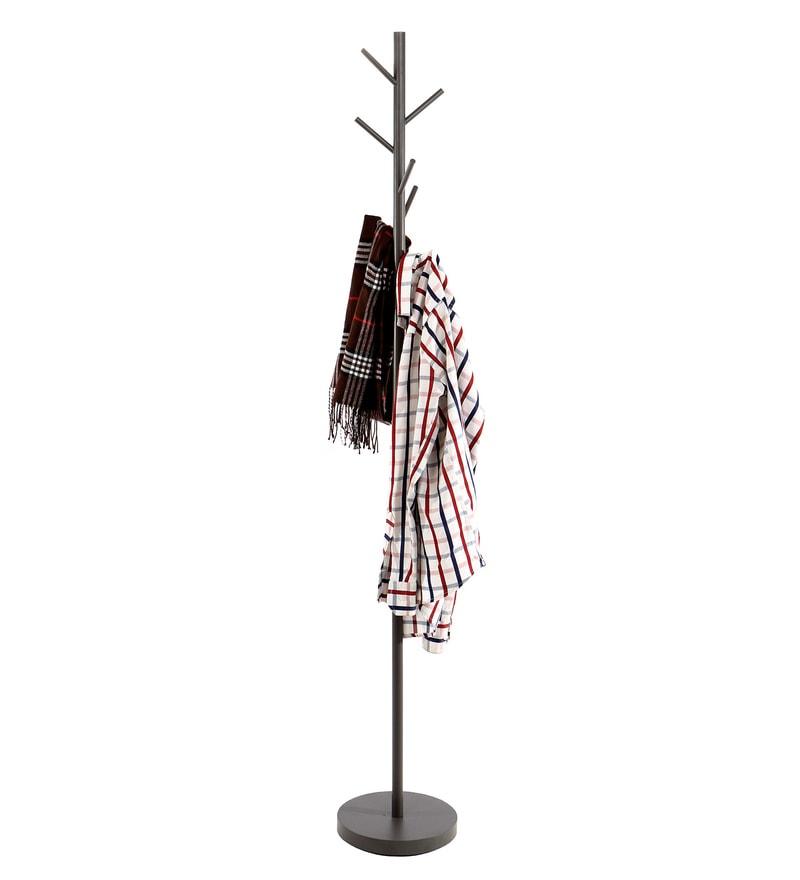 7 Peg Iron Grey Cloth Hanger by Tiara