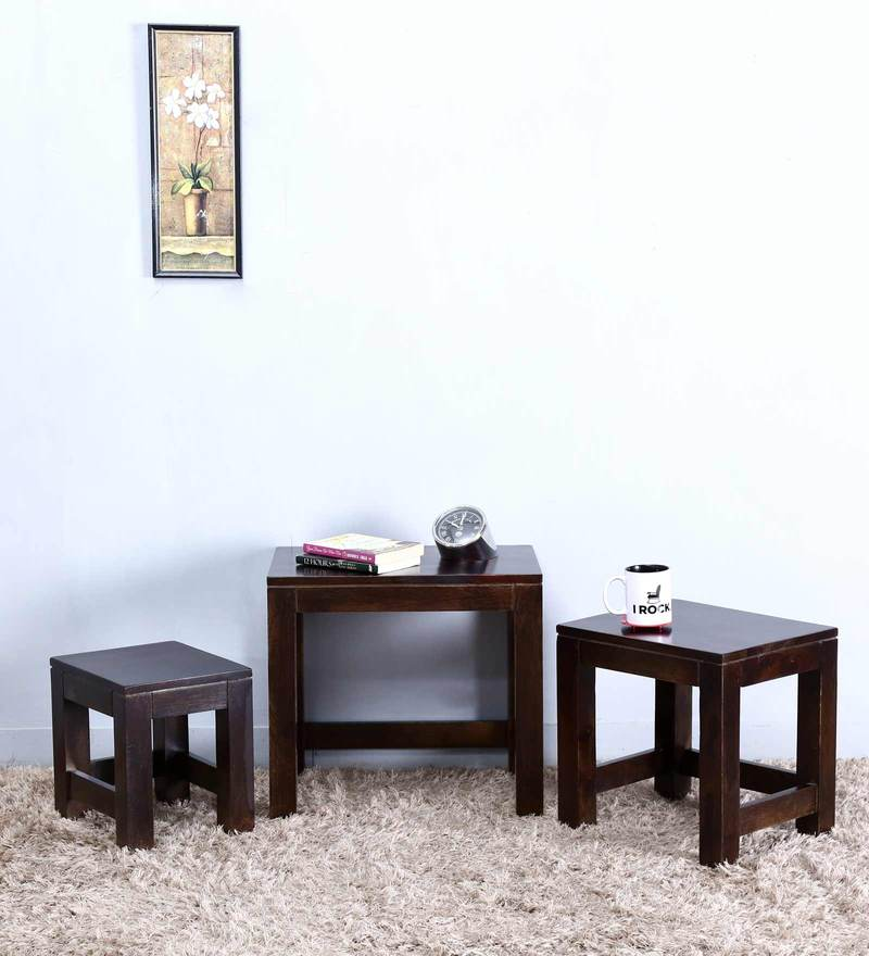 Toledo Set of Tables in Warm Chestnut Finish by Woodsworth