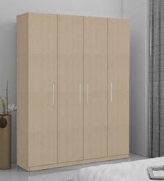 4 Door Wardrobe Online Buy Four Door Wardrobes For Bedroom Pepperfry