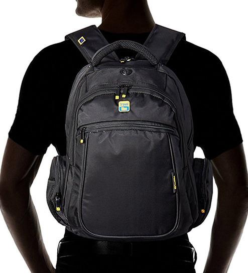 Buy Travel Blue 14   Laptop Backpack Black Online - Backpacks ... 900168bbe24b1