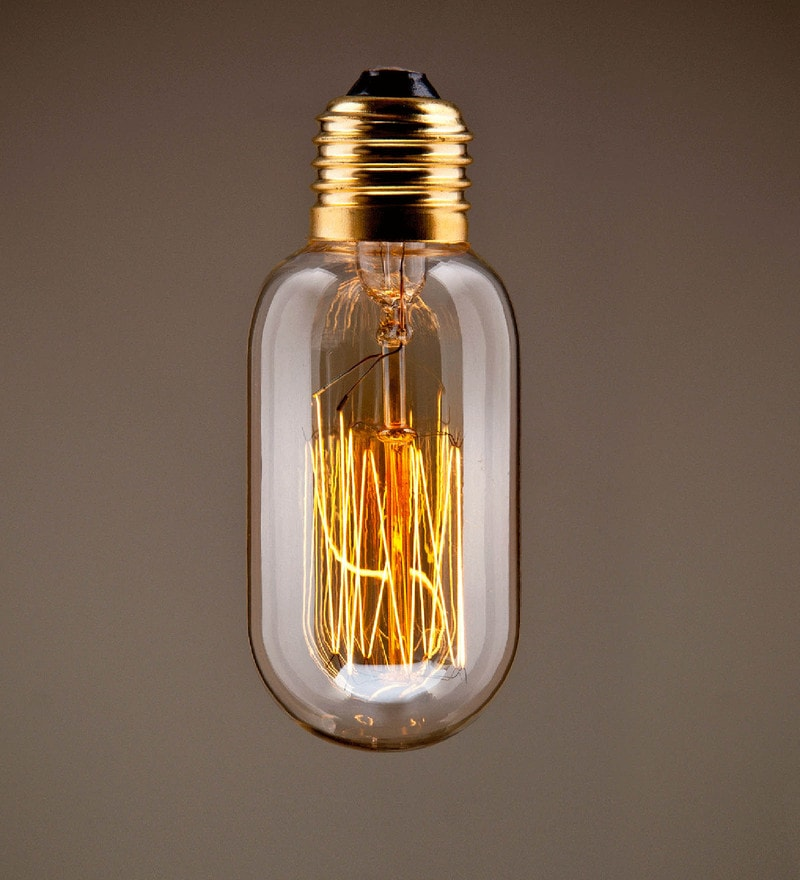 Transparent Glass Filament Bulb by Astral