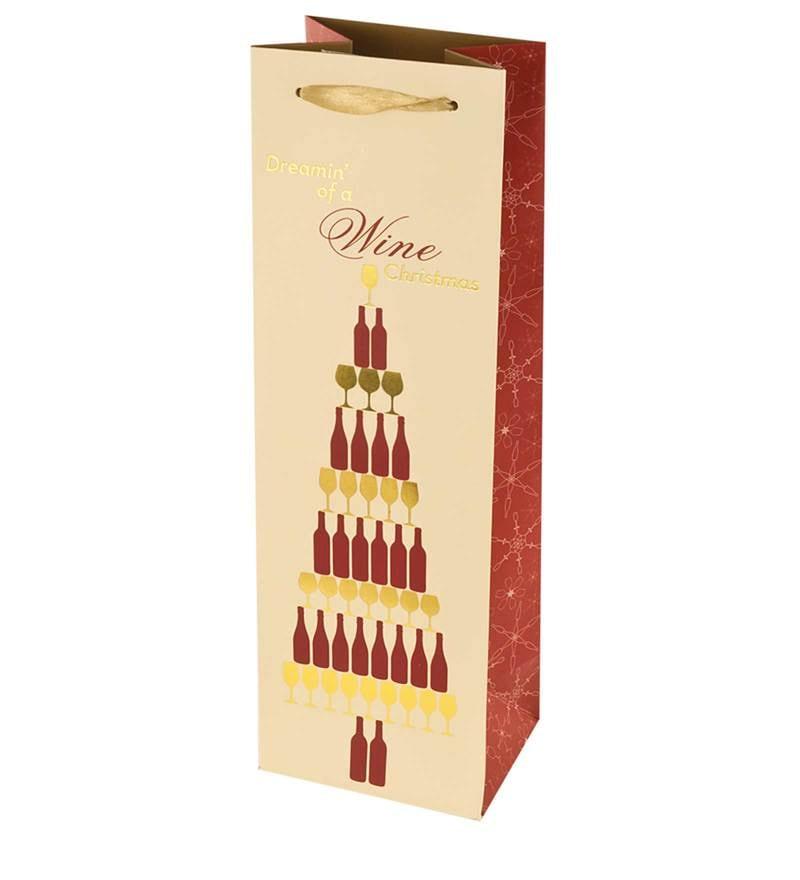 TRUE Wine Christmas Gift Bag - Set of 2