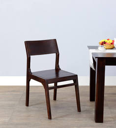 Tulsa Dining Chair In Warm Chestnut Finish By Woodsworth