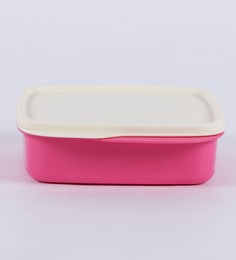 Tupperware Fun Meal Pink Plastic Lunch Box - set of 2 ...