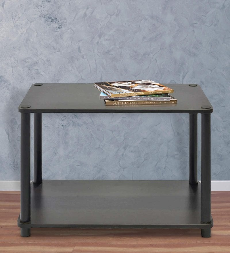 Tubular End Table in Natural Wenge Finish by Spacewood