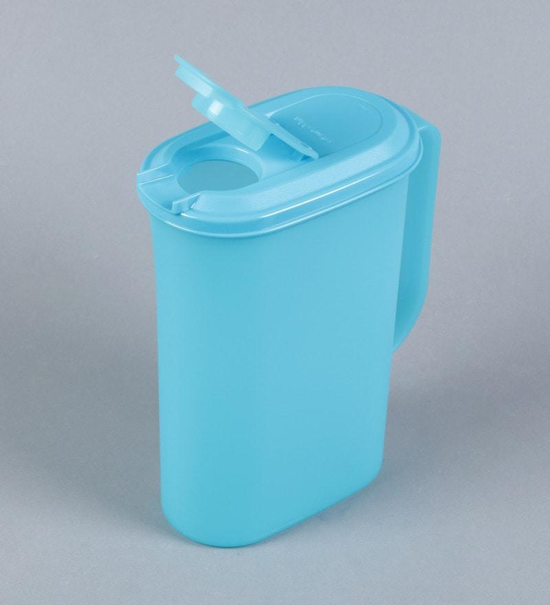 Buy Tupperware Aqua Colour Jug With Lid 2000 Ml Online