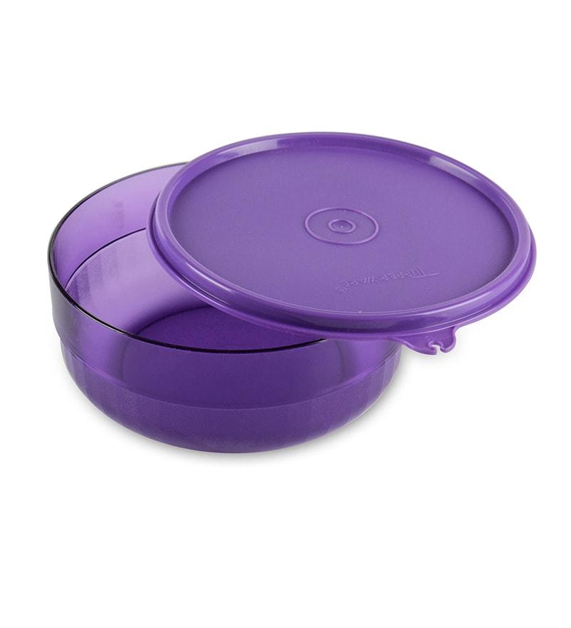 Tupperware Purple Deluxe Bowl By Tupperware Online