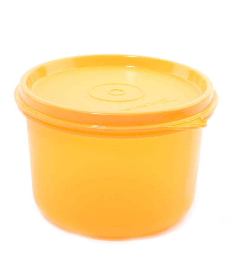 Buy Tupperware Rocker Multicolour Plastic 4 Lunch Box With