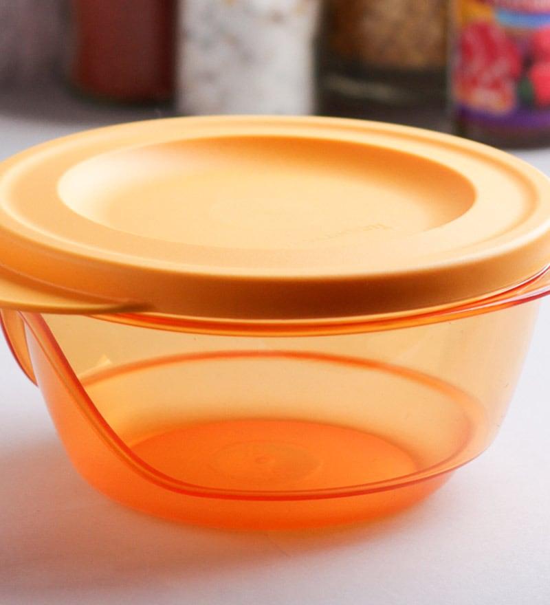 Buy Tupperware Orange Style Diva Bowl 450 Ml Set Of 4