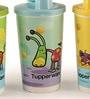 Tupperware Cartoon Sipper - Set of 4