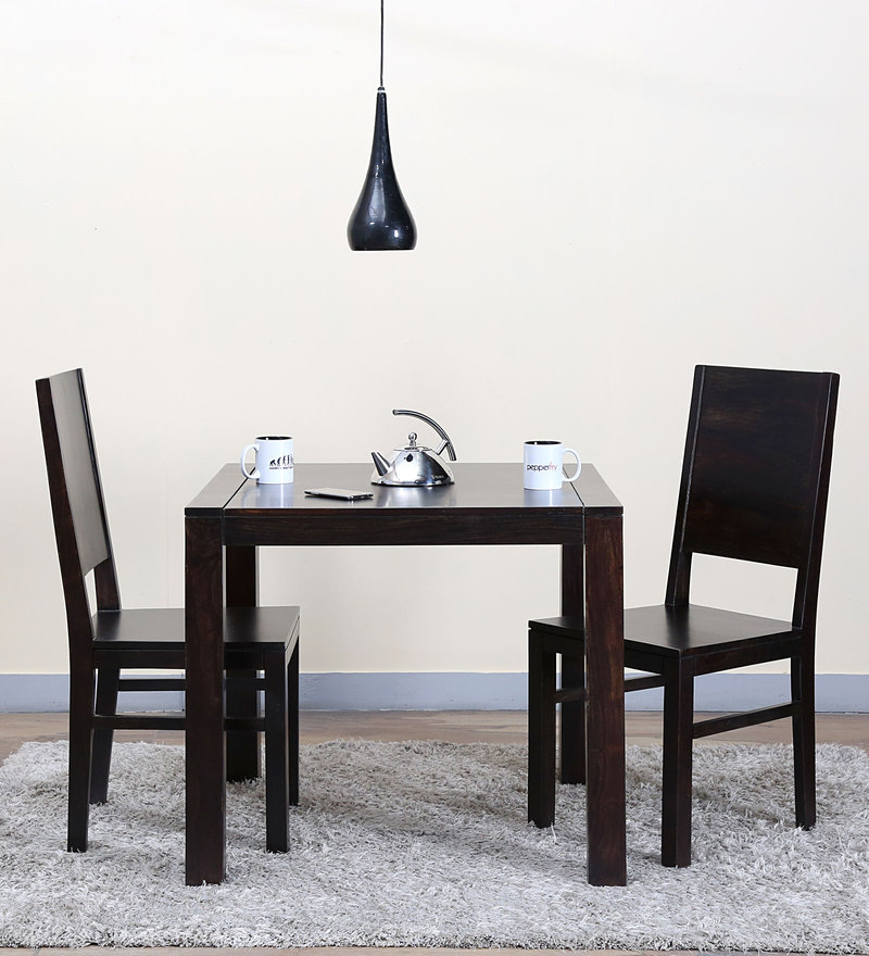 Oriel Two Seater Dining Set in Warm Chestnut Finish by Woodsworth