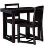 Avian Two Seater Dining Set in Warm Chestnut Finish by Woodsworth