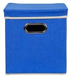 Uberlyfe Cardboard 25 L Blue Storage Boxes