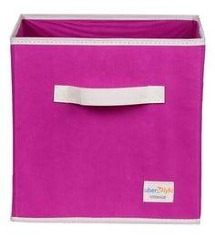 Uberlyfe Cubies Cardboard 20 L Pink Storage Box