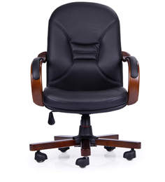 Ultra Medium Back Chair In Black Colour