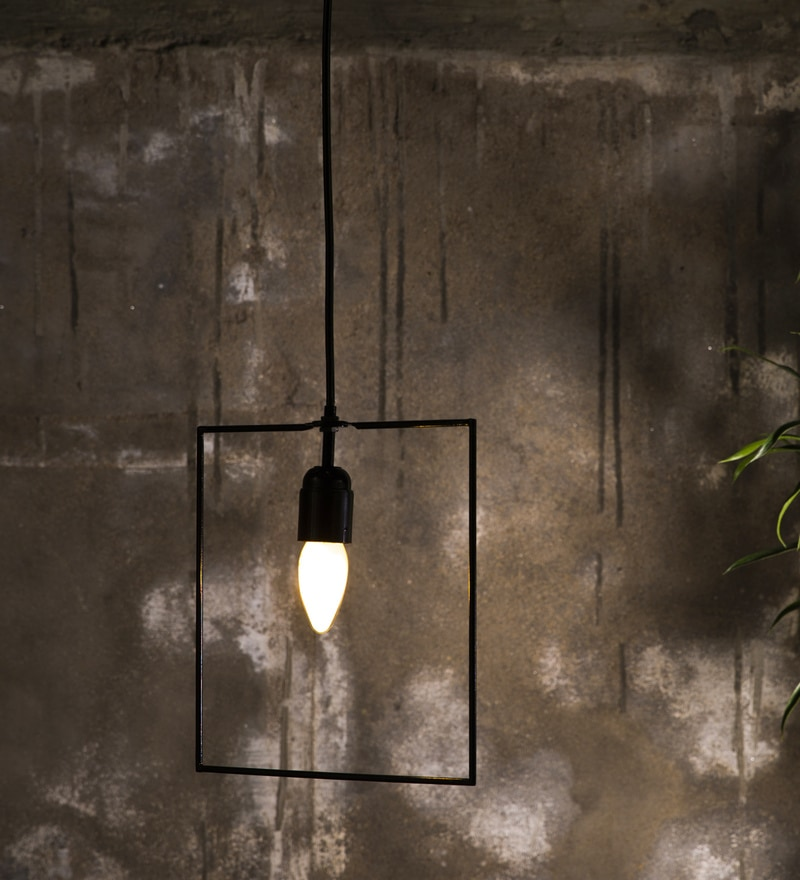 Black Metal Pendant by Untold Homes