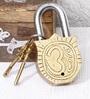 Unravel India Ganesha Brass Lock