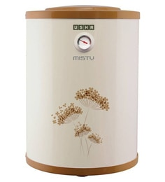 Usha Misty Storage Water Heater, Ivory Gold, 35 Litres