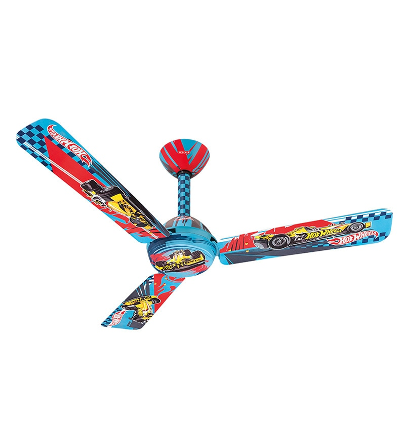 Usha Hot Wheels F-Racer Kids Ceiling Fan - 47.24 inch