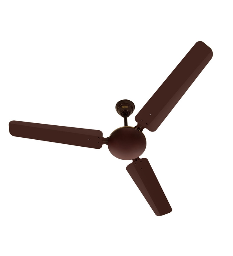 Usha Technix Brown Metal 3 Blades Energy Saver Ceiling Fan
