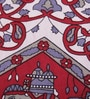 Uttam Indian Ethnic Maroon Cotton 84 x 54 Inch Bedsheet