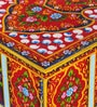 Valgulika Solid Wood Hand Painted Trunk by Mudramark