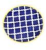 VarEesha Hand Crafted Blue Ceramic Full Plates - Set of 6