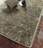 Beige Jute & Wool 96 x 60 Inch Hand Knotted Carpet by Vikram Carpets