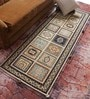 Ivory Wool Old World Hand Knotted Carpet by Vikram Carpets