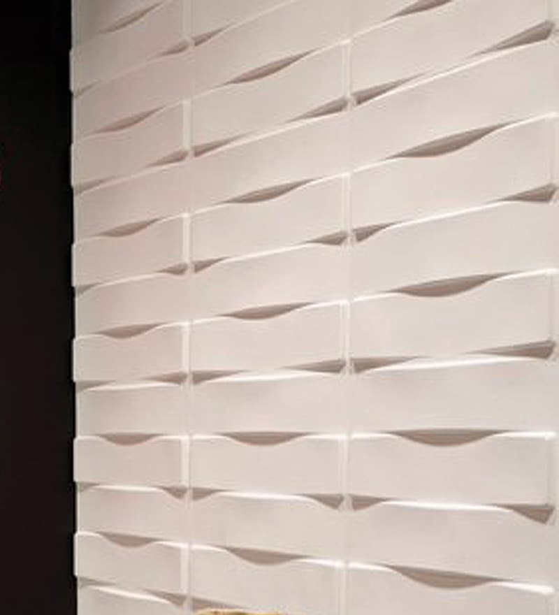 Crushed Sugarcane Fibres 20 x 20 Inch Vaults 3D Wall Panels - Set of 12 by WallArt