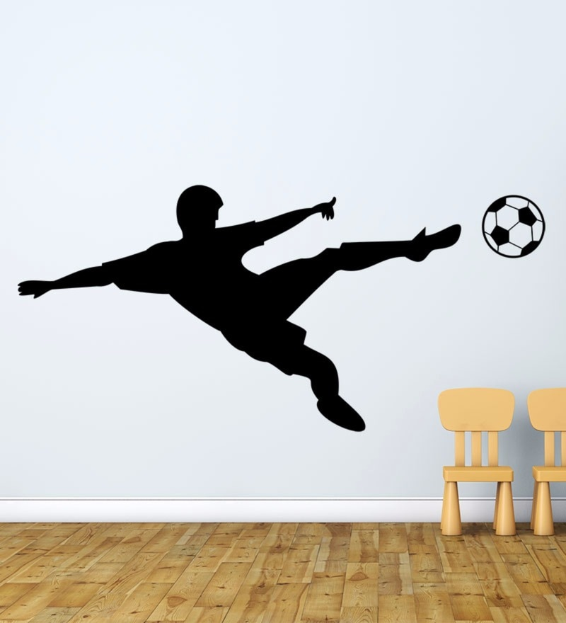 Vinyl Soccer on The Wall Decal by Wallskin