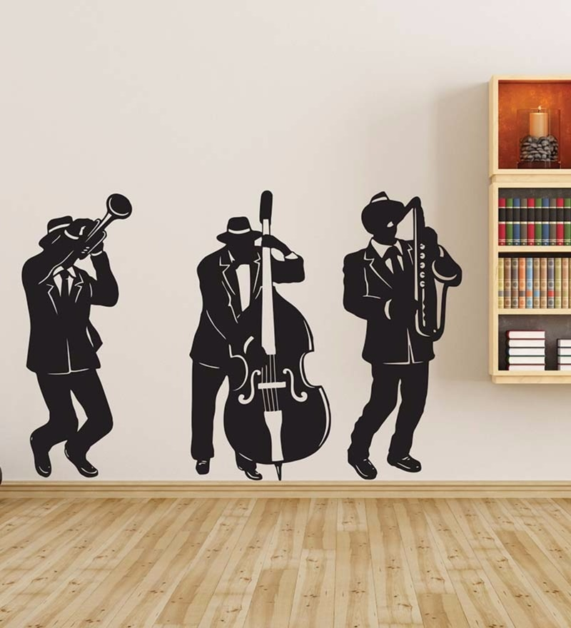 Vinyl The Band on The Wall Decal by Wallskin