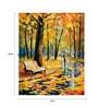 Canvas 18 x 24 Inch The Scenic Autumn Walk Framed Digital Art Print by Wall Skin